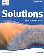Solutions Advanced 2nd Edition Student's Book
