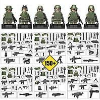 Отряд спец. назначения +150 единиц оружия. (Lego)