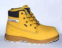 Зимние ботинки из натурального нуббука, есть 43,44 размеры. Restime оригинал