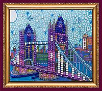 Набор-магнит для вышивки бисером «Лондон»