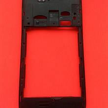 Fly iq4503 Quad средняя часть корпуса чёрная, стекло камеры б/у