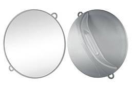 Дзеркало ручне Ø28 см сріблясте