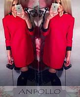 Прямое платье свободного кроя, фото 1