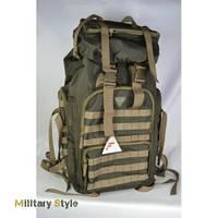 Рюкзак армейский 600 D, 60 литров (Olive)