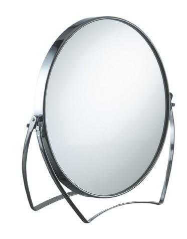 Косметическое зеркало Ø17см 2-х