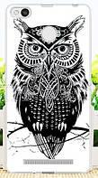 Чехол Xiaomi Redmi 3s / 3 pro Бампер силикон owl