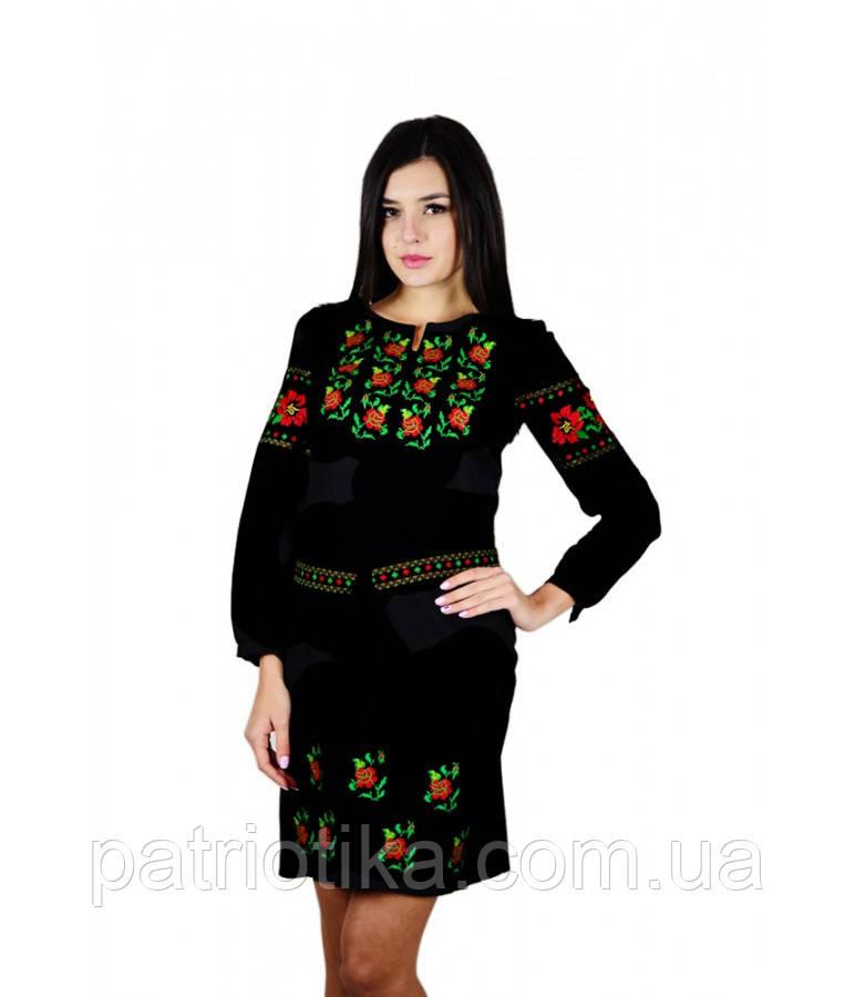 Вышитое платье М-1034-1 | Вишите плаття М-1034-1