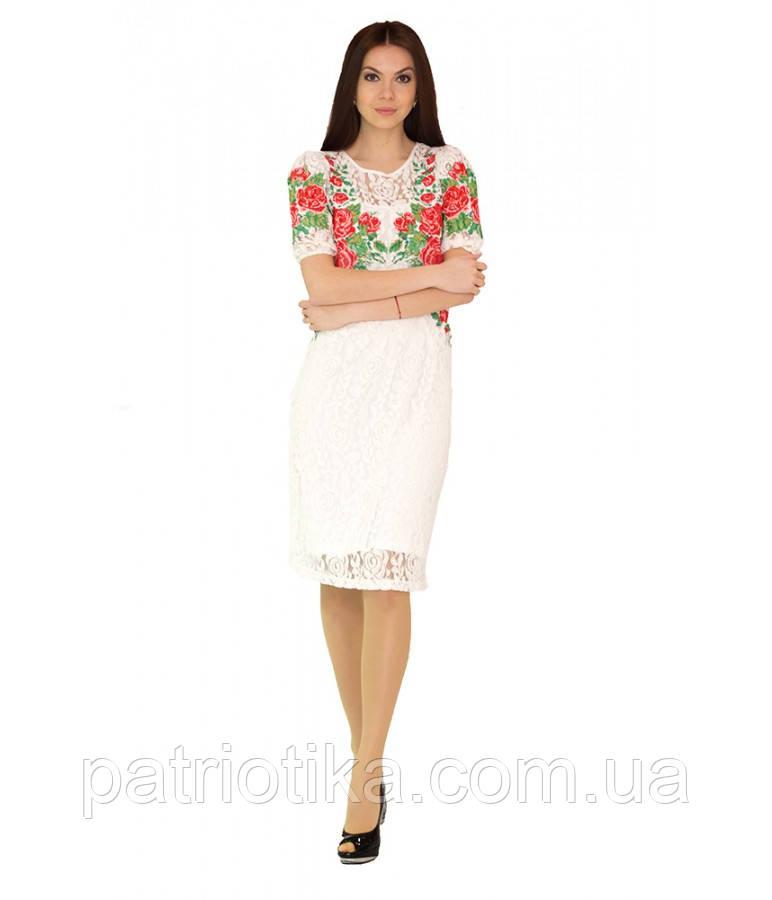 Вышитое платье М-1043-1 | Вишите плаття М-1043-1