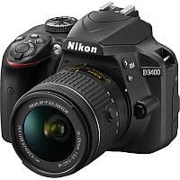 Цифр. фотокамера зеркальная Nikon D3400 KIT AF-S DX 18-105 VR