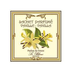 Саше парфюмированное Ваниль (LeBlanc France) Sachet Parfume Vanille Vanilla
