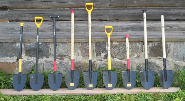 Лопаты и черенки