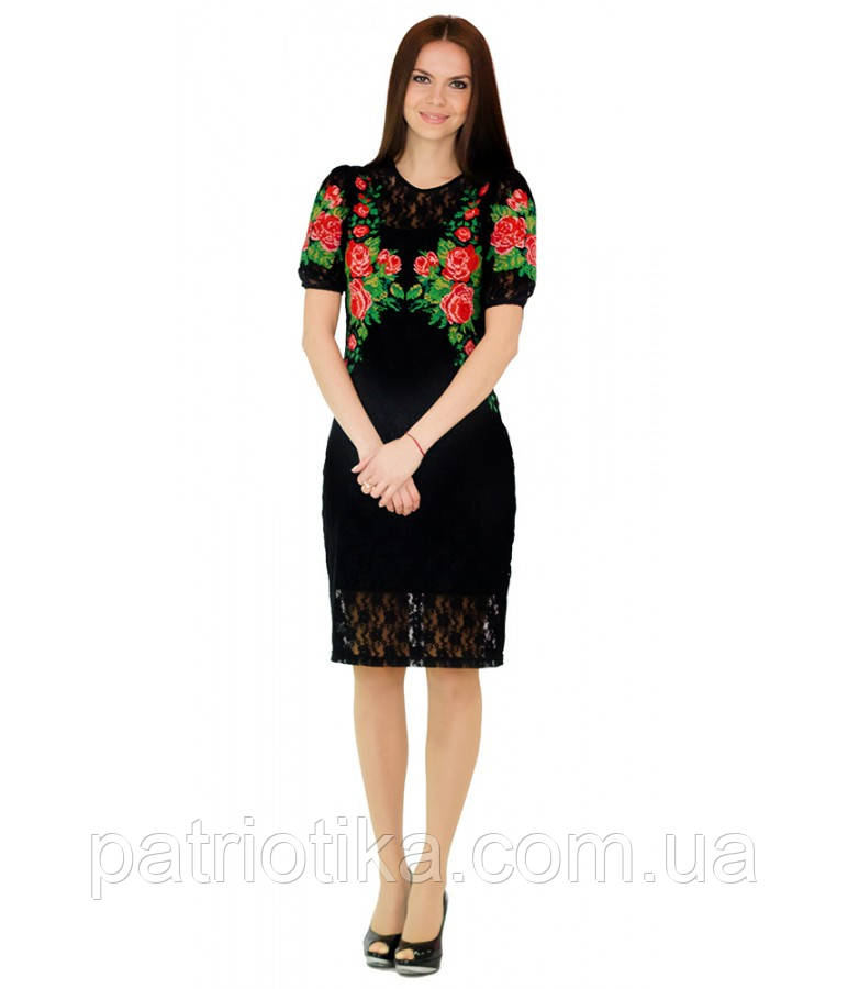 Вышитое платье М-1043 | Вишите плаття М-1043