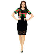 Вышитое платье М-1043 | Вишите плаття М-1043, фото 3