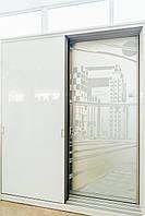 Раздвижные двери для шкафа-купе в сборе с профилем «Elegant»