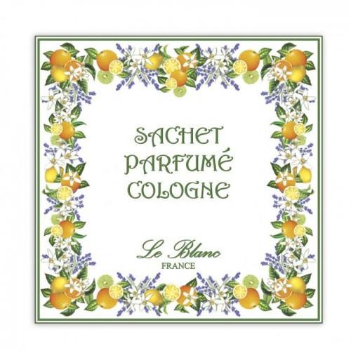 Саше парфюмированное Одеколон (LeBlanc France) Sachet Parfume Cologne