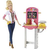"""Кукла Барби ветеринар с игровым набором из серии """"Кем быть барби"""", фото 1"""