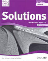 Рабочая тетрадь Solutions Intermediate 2nd Edition: WorkBook with CD-ROM (Edition for Ukraine)