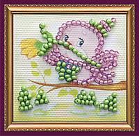 Набор для вышивки бисером «Магнит мини» Птенчик