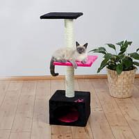 """Трикси 43457 когтеточка - домик """"БАДАЛОНА"""" для кошек и котят, 109см, ягодный"""