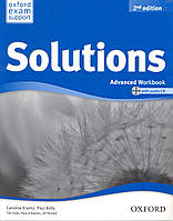 Рабочая тетрадь Solutions Advanced 2nd Edition: WorkBook with CD-ROM