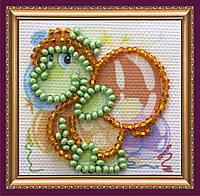 Набор для вышивки бисером «Магнит мини» Черепашка