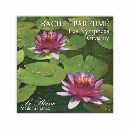 Саше парфюмированное Les Nimpheas Giverny Орхидея (LeBlanc France) Sachet Parfume