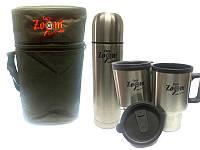 Carp Zoom Набор в чехле: термос 0.5 + 2 чашки (CZ4304)