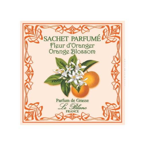 Саше парфюмированное Цветок Апельсина (LeBlanc France) Sachet Parfume Fleur d'Oranger; Orange Blossom