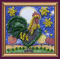 Набор для вышивки бисером «Магнит мини» Золотой гребешок