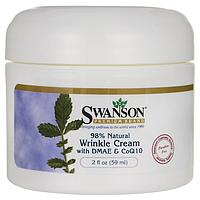 Крем от Морщин с DMAE и Коэнзимом Q10, на 98% Натуральные Ингредиенты, 59 мл.