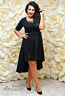 Платье смокинг креп