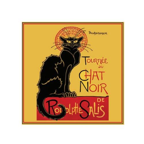 Саше парфюмированное Черная кошка / Роза (LeBlanc France) Sachet Parfume
