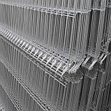 Паркан оцинкований секційний з зварної сітки Прикриє™, фото 5