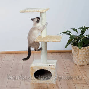 Домик БАДАЛОНА для кошек и котят, 109см, бежевый Трикси 43451 когтеточка