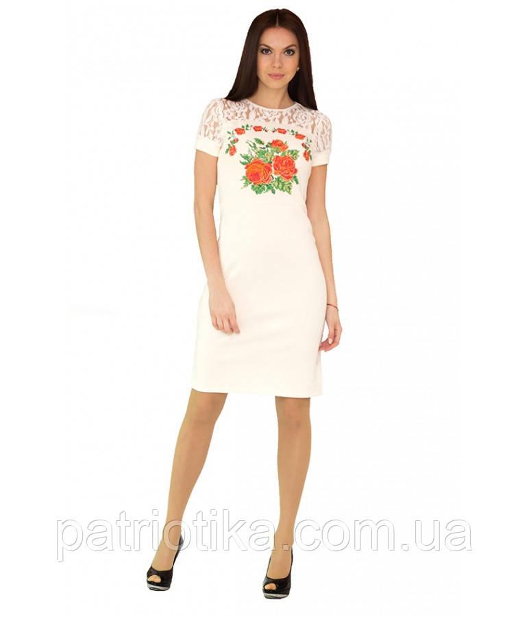 Вышитое платье М-1042-3 | Вишите плаття М-1042-3