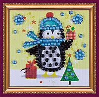 Набор для вышивки бисером «Магнит мини» Подарки Деда Мороза