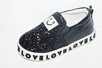 Детские модные слипоны оптом. Спортивная обувь для девочек от фирмы GFB C926-6 (8пар 21-26)