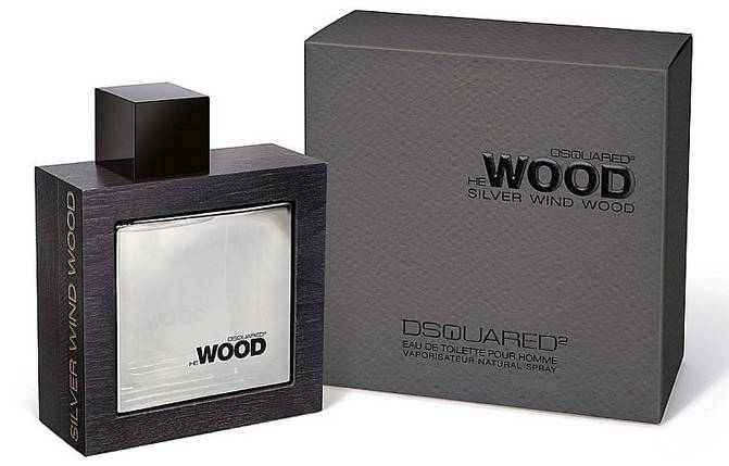 Dsquared2 He Wood Silver Wind Wood туалетная вода 100 ml. (Дискваред 2 Хи Вуд Сильвер Винд Вуд), фото 2