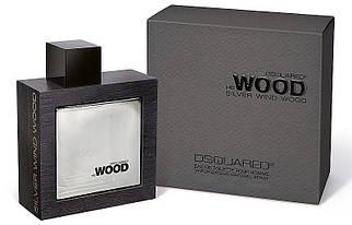Dsquared2 He Wood Silver Wind Wood туалетная вода 100 ml. (Дискваред 2 Хи Вуд Сильвер Винд Вуд)