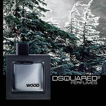 Dsquared2 He Wood Silver Wind Wood туалетная вода 100 ml. (Дискваред 2 Хи Вуд Сильвер Винд Вуд), фото 3