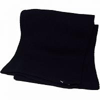 Шарф вязаный женский цвет черный