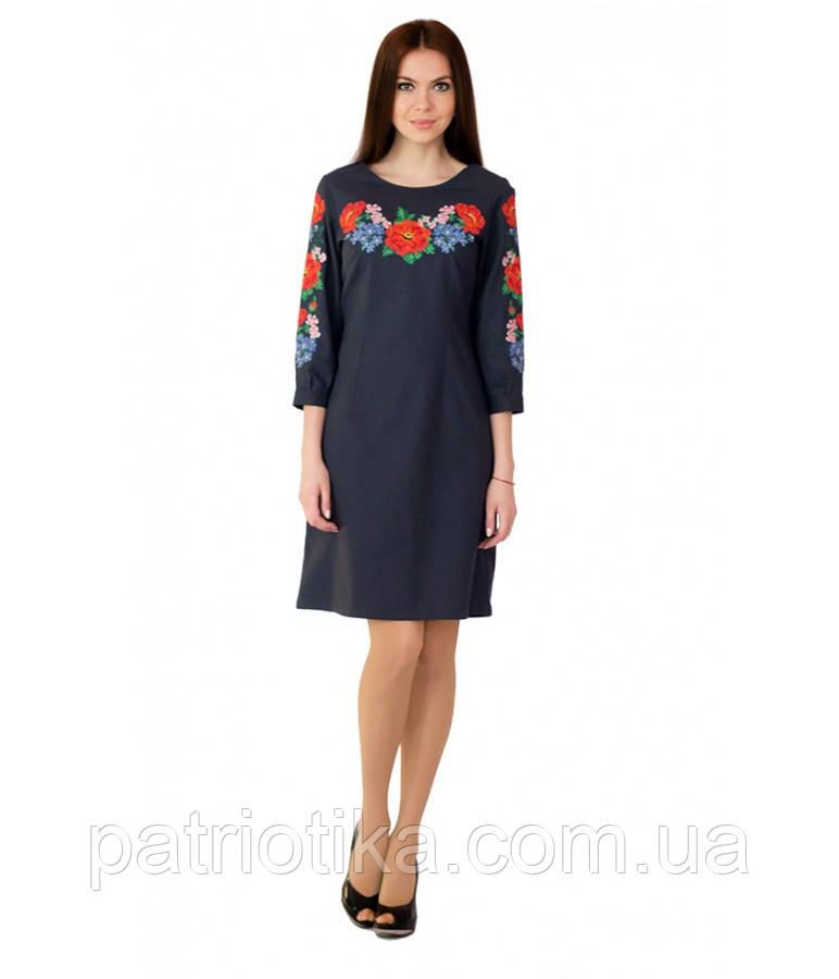 Вышитое платье М-1027 | Вишите плаття М-1027