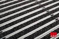 ACO Vario алюминиевая решётка с войлочным покрытием 600х400х20 мм для поддержания чистоты при входе в дом