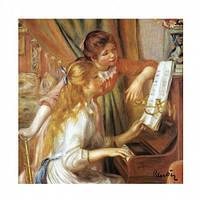 Саше парфюмированное П.Ренуар - Девушки за фортепьяно / Ирис (LeBlanc France) Sachet Parfume