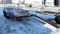 Прицеп для перевозки снегохода 3,8м х 1,9м. Рессорный. Тормоза на обе оси!
