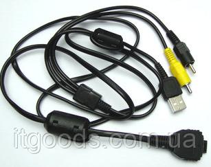 Кабель AV + USB VMC-MD1 (аналог) для Sony DSC-N1   P150   T100   W130   W170