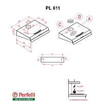 Вытяжка Perfelli PL 611 IV