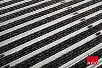 ACO Vario алюминиевая решётка с войлочным покрытием 750х500х20 мм для поддержания чистоты при входе в дом