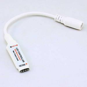 Контроллер 12V RGB для светодиодной ленты 72Вт 6А-радио-10 кнопок, фото 2