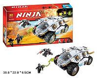 "10523 Конструктор Bela Ninja  (Аналог Lego Ninjago 70588) ""Внедорожник титанового ниндзя"" 362 д."